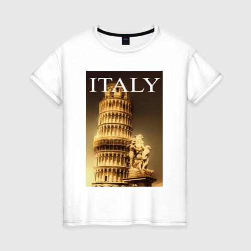 Женская футболка хлопок Италия