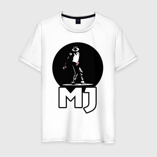 Мужская футболка хлопок Майкл Джексон