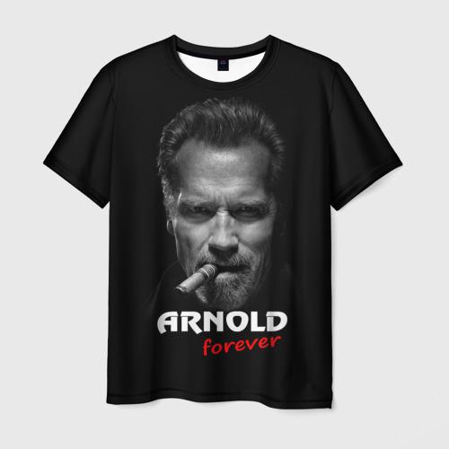 Мужская футболка 3D Arnold forever