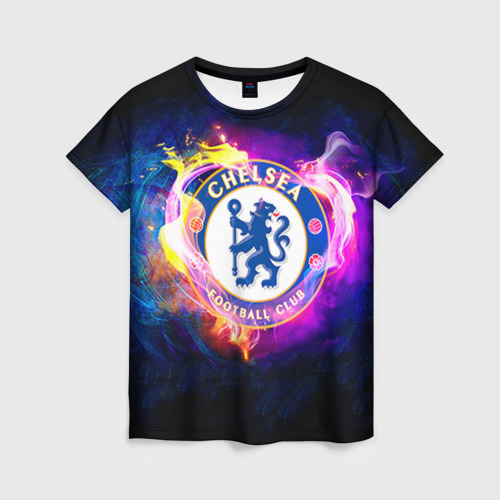 Женская футболка 3D Chelsea