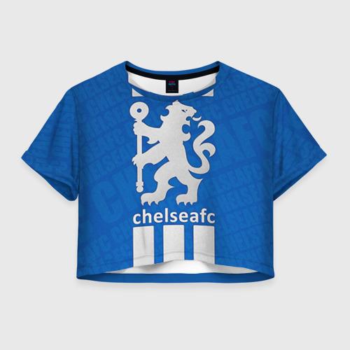 Женская футболка Crop-top 3D Chelsea