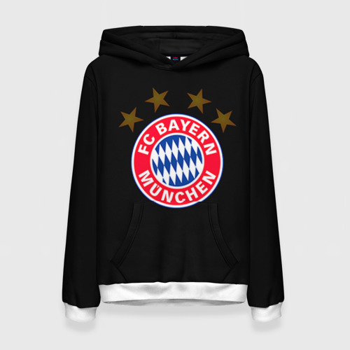 Женская толстовка 3D Bayern