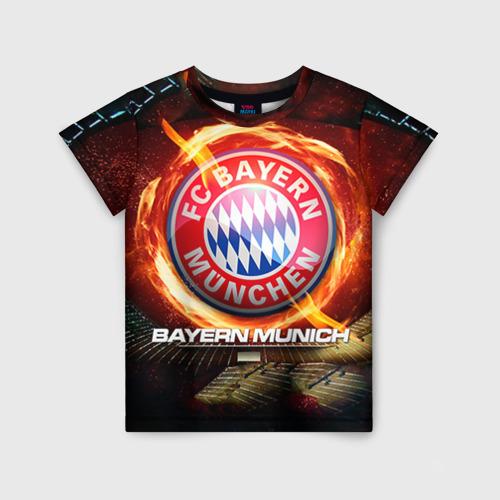 Детская футболка 3D Bayern