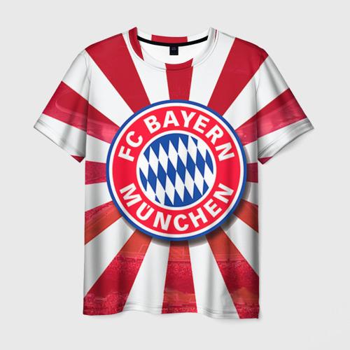 Мужская футболка 3D Bayern