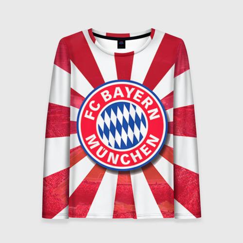 Женский лонгслив 3D Bayern