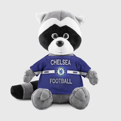 Игрушка Енотик в футболке 3D Chelsea football