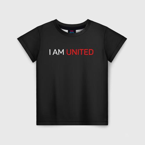 Детская футболка 3D Manchester United team