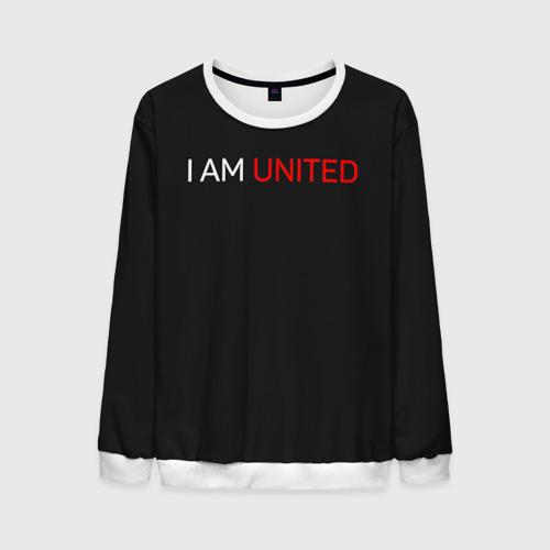 Мужской свитшот 3D Manchester United team