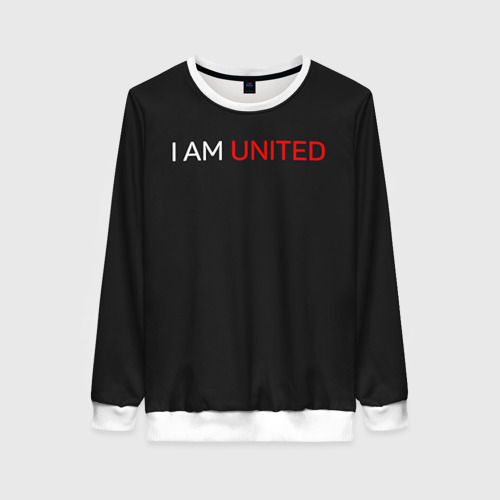 Женский свитшот 3D Manchester United team