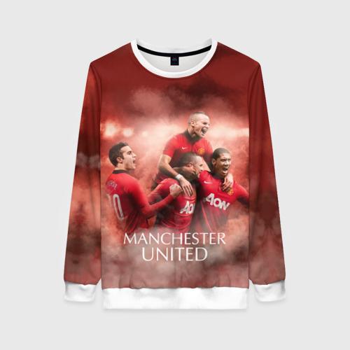 Женский свитшот 3D Manchester United