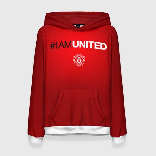 Женская толстовка 3D I am United