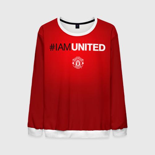 Мужской свитшот 3D I am United