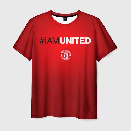 Мужская футболка 3D I am United