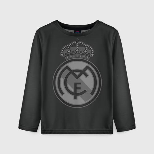 Детский лонгслив 3D Real Madrid