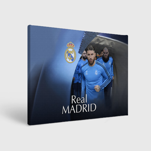Холст прямоугольный Real Madrid