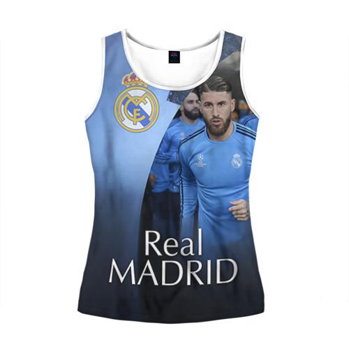 Женская майка 3D Real Madrid