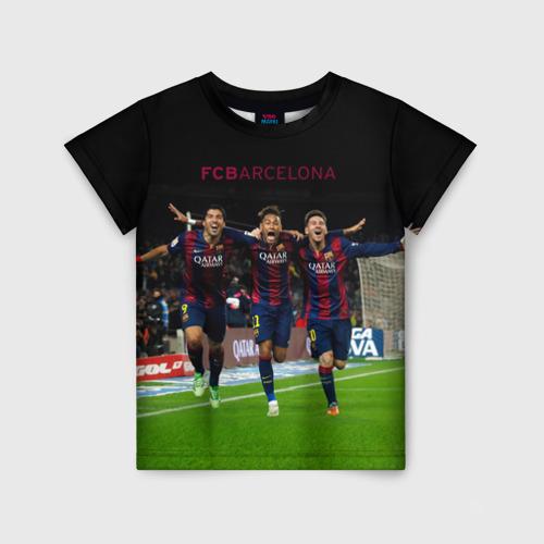 Детская футболка 3D Barcelona6