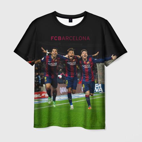 Мужская футболка 3D Barcelona6