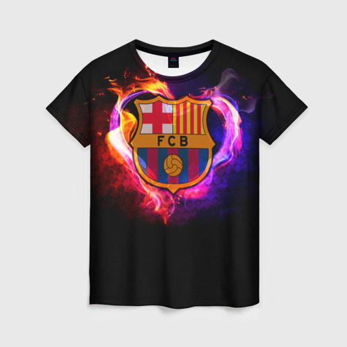 Женская футболка 3D Barcelona7
