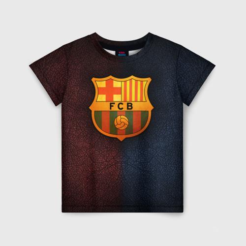 Детская футболка 3D Barcelona8