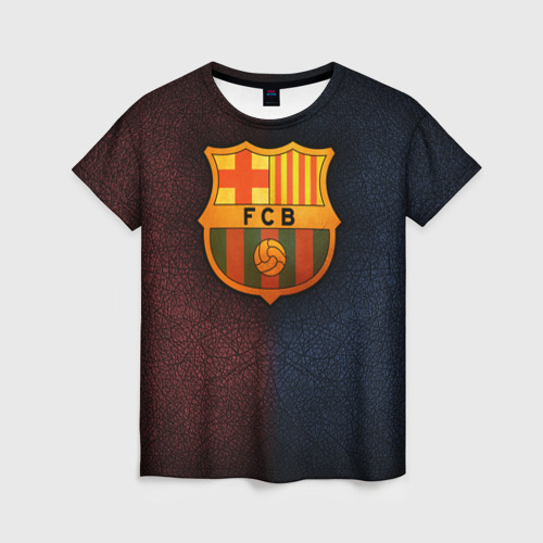 Женская футболка 3D Barcelona8