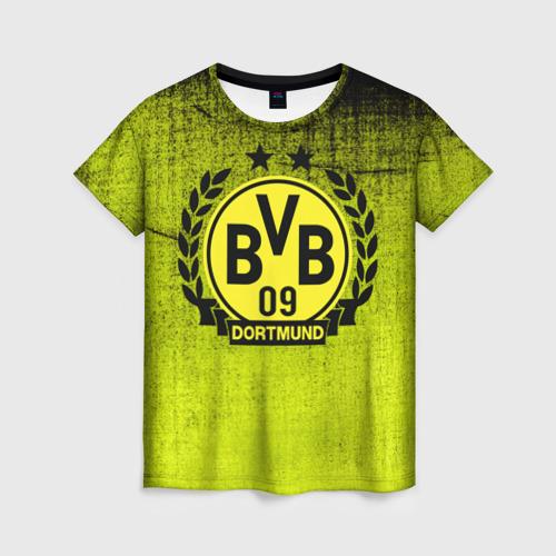 Женская футболка 3D Borussia5