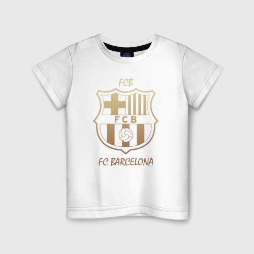 Детская футболка хлопок Barcelona1