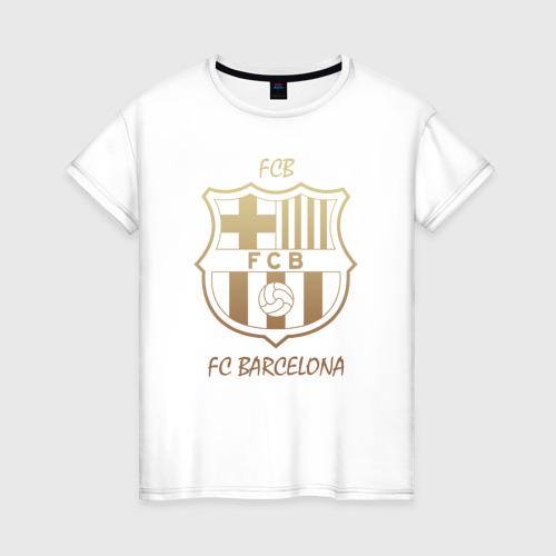 Женская футболка хлопок Barcelona1