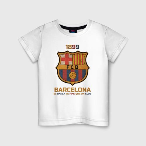 Детская футболка хлопок Barcelona2