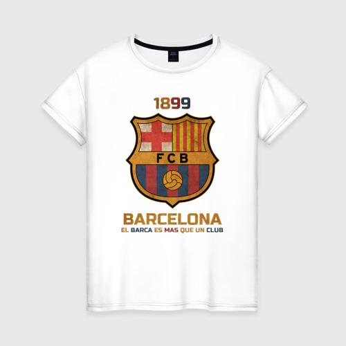Женская футболка хлопок Barcelona2