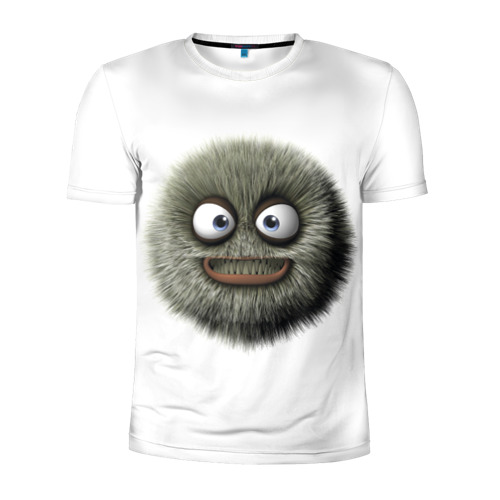 Мужская футболка 3D спортивная Монстр