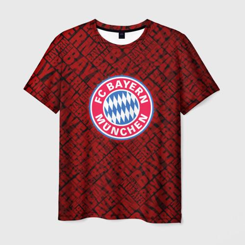 Мужская футболка 3D Bayern munich