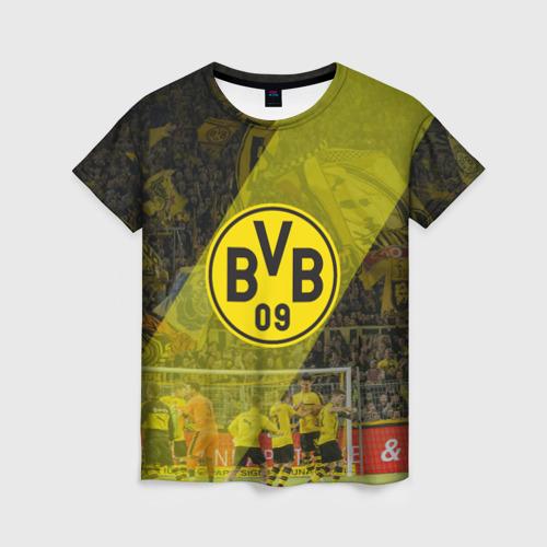 Женская футболка 3D Borussia