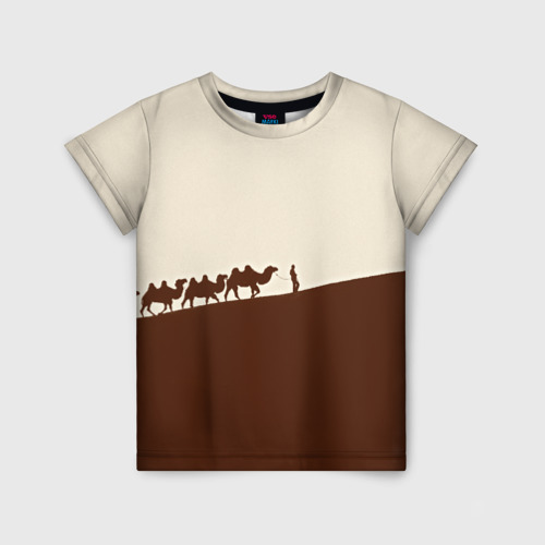 Детская футболка 3D Пустыня