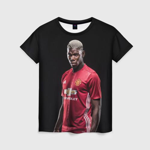 Женская футболка 3D Погба