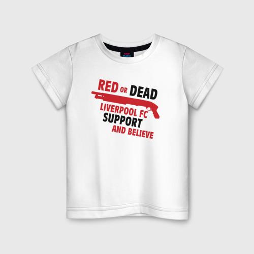 Детская футболка хлопок Liverpool