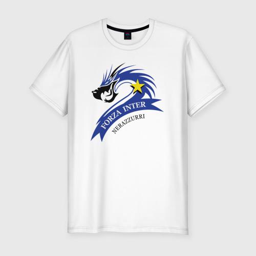Мужская футболка хлопок Slim Forza Inter