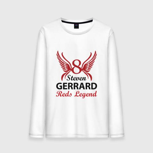 Мужской лонгслив хлопок Steven Gerrard