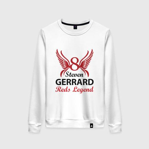 Женский свитшот хлопок Steven Gerrard