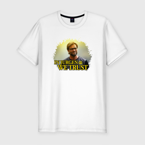 Мужская футболка хлопок Slim Jurgen_Klopp