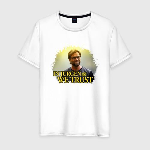 Мужская футболка хлопок Jurgen_Klopp
