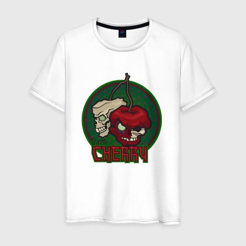 Мужская футболка хлопок ЗомбиВишня