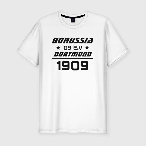 Мужская футболка хлопок Slim BVB