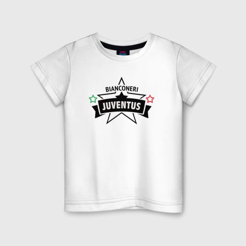 Детская футболка хлопок juventus