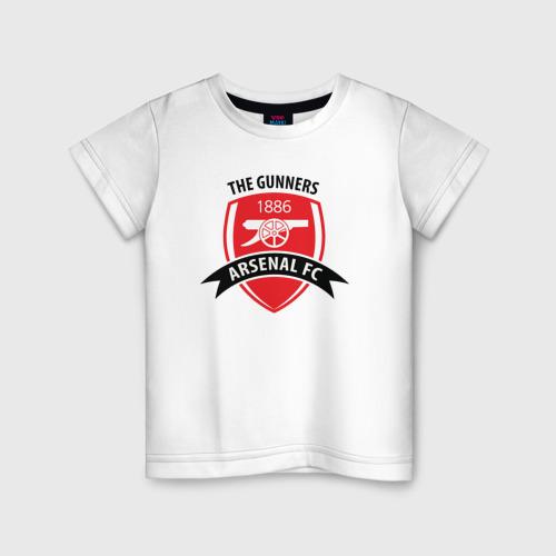 Детская футболка хлопок Arsenal