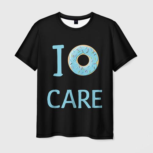 Мужская футболка 3D Donut care