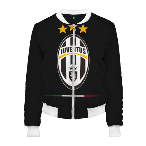 Женский бомбер 3D Juventus1