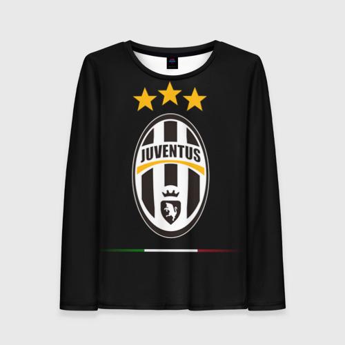 Женский лонгслив 3D Juventus1