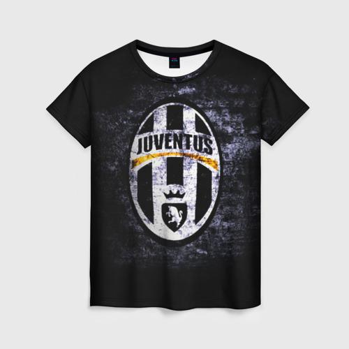 Женская футболка 3D Juventus2