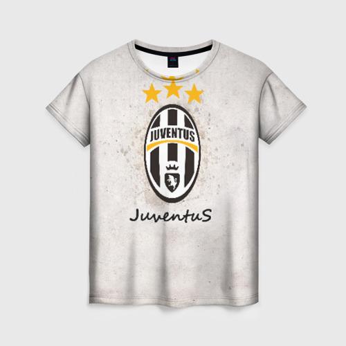Женская футболка 3D Juventus3
